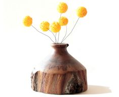 Faux-Billy-Buttons-in-Wood-Vase