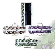 Designer Wine Purse - Red, green and purple plaid Wine Purse, Wine Bottle Holders, Wine Stoppers, Wine Festival, Green And Purple, Me As A Girlfriend, Purses And Handbags, Louis Vuitton Damier, Shoulder Bag