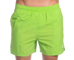 Speedo Men's Solid Leisure Shorts - Nile Green