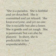 A somewhat unpredictable paradox :-) #INTJ #introvert