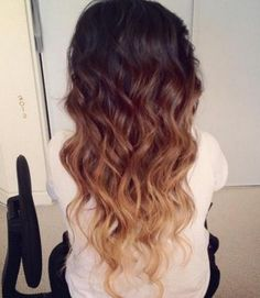 Love this Ombre Hair Color
