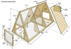 Build an A-frame chicken coop | Reader's Digest Australia