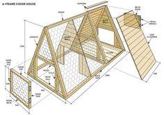 Build an A-frame chicken coop | Reader's Digest Australia