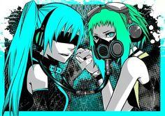 Miku and Gumi