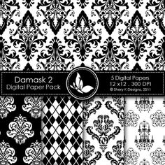 Damask 2 Digital Pack