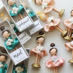 Custom bridesmaid / maid of honor / matron of by LeftonLynnaLane - Bridesmaid and Bachelorette - Dolly Dolls Wood Peg Dolls, Clothespin Dolls, Clothes Pegs, Clothes Crafts, Fun Crafts, Diy And Crafts, Dolly Doll, Kegel, Tiny Dolls