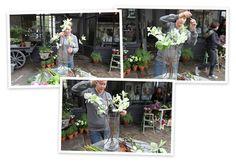 Flower arranging by vase | goop.com