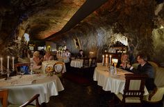 Svata Klara ($$$$) U Trojskeho zamku 35  Dark, secluded wine cellar, north of the city center. Romantic setting—candlelight, fine linens, extensive wine list. Menu balances Angus steaks with local favorites like venison, roast duck, and baked goose served with potato dumplings.