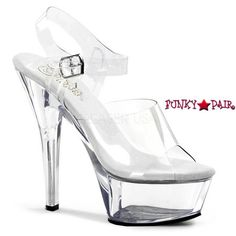 3ad327a422 95 Best Clear High Heels images | Clear high heels, Rhinestones ...