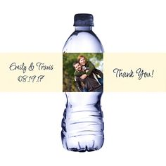 Design Your Own Photo Water Bottle Labels