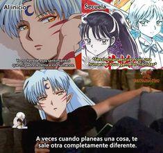 Otaku Anime, Manga Anime, Inuyasha Memes, Rin And Sesshomaru, Inuyasha Love, Ladybug Comics, Cute Comics, Manga Comics, Itachi
