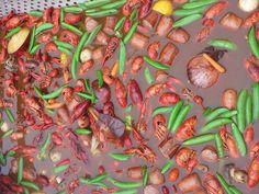 Yumm Crawfish Season, Clams, Oysters, Shrimp, Seafood, Sea Food, Seashells, Seafood Dishes