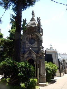 One of 4,300 mausoleums in the Buenos Aires  Recoleta Cemetery
