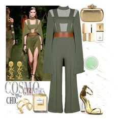 """""""Runway Chic"""" by poshgirlus ❤ liked on Polyvore featuring Posh Girl, Yves Saint Laurent, Tory Burch, Alexander McQueen, Cape Robbin, Dolce&Gabbana and Stila"""