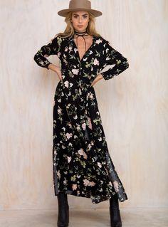 Miranda Floral Maxi Dress