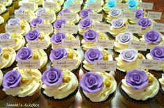 customized cupcakes for @Kristin Asal.com by Joanne's Kitchen <3<3<3 [www.kasal.com]
