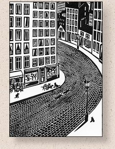 Woodcut by Frans Masereel