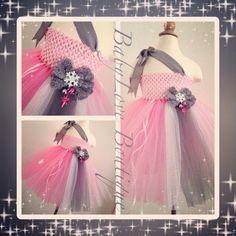 Ice princess tutu dress