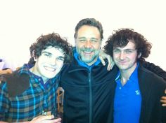 Fra Fee: Myself russellcrowe and gblagden ...a wee bit merry