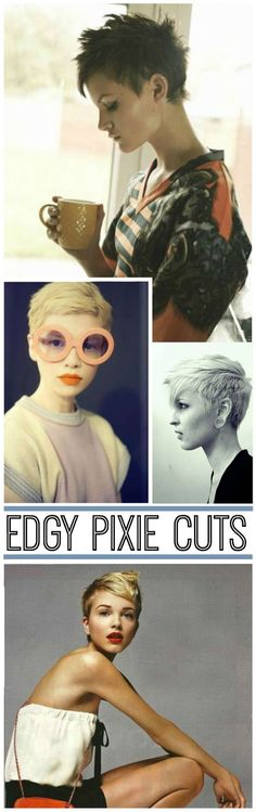 A BEAUTIFUL LITTLE LIFE: The Edgy Pixie: Growing It Out // Cutting It Off or You Always Want What You Haven't Got