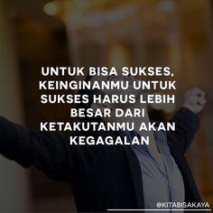 New Quotes Indonesia Motivasi Sukses 33 Ideas Dream Quotes, New Quotes, Words Quotes, Qoutes, Morning Words, Morning Quotes, Poetic Words, General Quotes, Study Motivation Quotes
