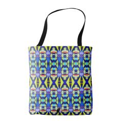 Longtidoodians KCFX Tote Bag. 50% OFF Totes – Use CODE: ZONEDAYDEAL2 'til MidniteTonite 11-21-17. Similar to the currently trending Ikat style, this design blends abstract art, technology and psychedelia in a completely unique fashion. The origination image is from my Kinetic Collage Sweet Dreams series of light show photos. Totally authentic original design direct from the artist. A one of a kind item made just for you. Over 3000 unique products at my Zazzle online store. Open 24/7  World…