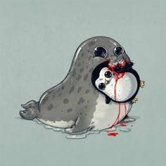 La adorable cruda realidad del mundo animal4