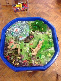 Frog pond tuff spot