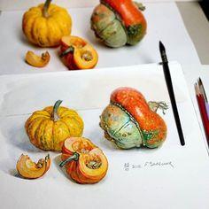 Watercolorist: @lizalegina #waterblog #акварель #aquarelle #painting #drawing #art #artist #artwork #painting #illustration #watercolor #aquarela