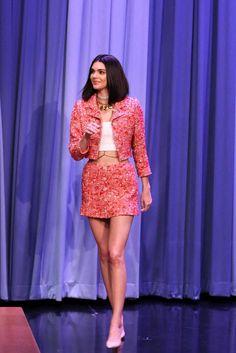 Kendall Jenner - The Tonight Show Starring Jimmy Fallon' on Feb 14