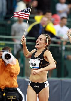 Julie Culley women's 5000m... pretty cool that my cousins' cousin is in the 2012 summer olympics...