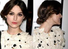 FRYZURY KROK PO KROKU: upięcie włosów w stylu Keiry Knightley