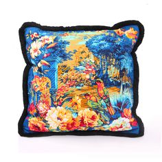 Fuanna floral printed throw pillow cover (without insert)  CC