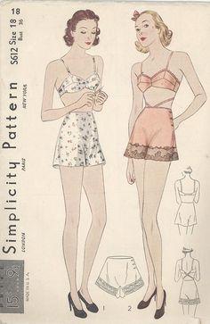 Free Vintage Sewing Patterns: http://mymodernmet.com/free-vintage-sewing-patterns/?utm_source=facebook&utm_medium=link&utm_campaign=atlasobscura