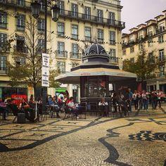Lisbon Portugal kiosk