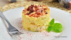 Deliciosa receta de Ensaladilla de pulpo y gambas