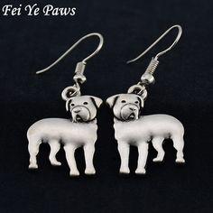 Drop Shipping Rottweiler Dog Drop Earrings Brincos Big Long Earrings For Women Earings fashion Jewelry Pendientes bijoux femme #Affiliate