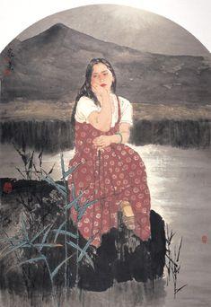 TURNING THOUGHTS AFAIR, by He Jiaying (他 何家英; b1957, Taiwan)
