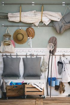 Check out our tips for an organised hallway