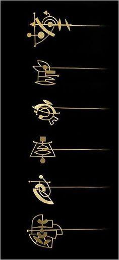 Wendy Ramshaw Lapel pins