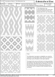 Patterns for Brick Stitch Mehr Broderie Bargello, Bargello Needlepoint, Bargello Quilts, Needlepoint Stitches, Cross Stitch Embroidery, Embroidery Patterns, Cross Stitch Patterns, Blackwork, Medieval Embroidery