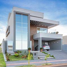 - Trend Home Design Ideen 2019 Best Modern House Design, Modern Exterior House Designs, Modern Home Interior Design, Cool House Designs, Exterior Design, Bungalow House Design, House Front Design, Home Building Design, Building A House