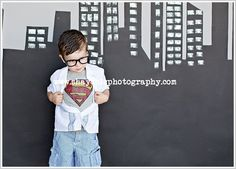 Toddler Superman...love this!