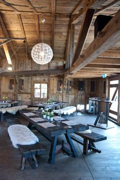 Schopf - Bächlihof Jona (SZ, Switzerland) www.ch, pic by Schindler & Scheibling Patio, Outdoor Decor, Home Decor, Environment, Wedding, Decoration Home, Terrace, Room Decor, Porch