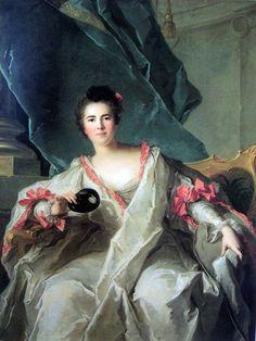 Portrait of the Marquise de la Ferté-Imbault,1740, by Jean-Marc Nattier (French, 1685 - 1766)