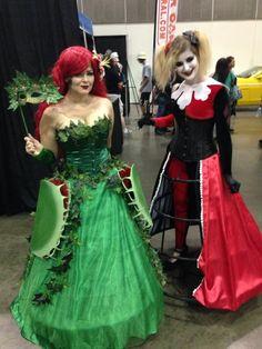 Формальное Ядовитый плющ и Harley Quinn с помощью-1One
