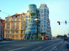 frank gehry...Fred and Ginger