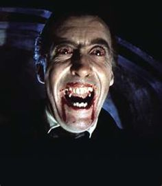 Christopher Lee as Dracula, one of my favorite actors ever -- love this man!