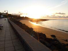Sunrise in Matagorda Lanzarote Sept 2014