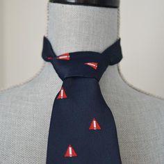 2eedf58ee864 Vintage 70s Danger Symbol Necktie - Warning, WHIMIS Symbol, Health +  Safety, Nerd, Geek, Achtung - Navy Blue, Red, White, Made in England